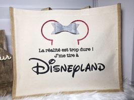 """Sac jute et coton """"Minnie"""""""