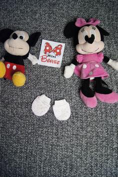 kleine Handschuhe mit Sternchen, 0-4 Monate