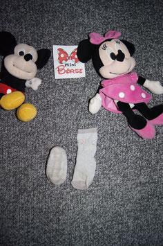 Socken, graue Sockenmit Mausgesicht, antirutsch-Sohle, Fusslänge ca. 9cm