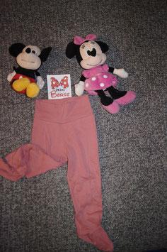 Pijama Hose Gr. 86/92, rosa Pijama Hose mit Füsschen