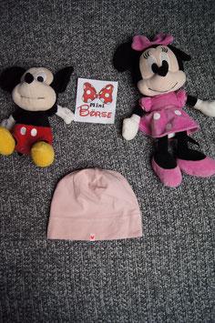 Mütze, Gr. 7-12 Mt, leichte rosa Mütze