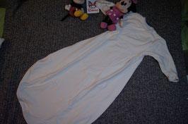 Schlafsack Gr. 104, weisser Schlafsack, hat Flecken