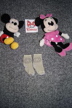 Socken, hellbraune socken mit Löwenkopf, fusslänge ca. 10 cm.