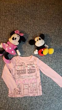 """lang arm T-Shirt Gr. 86/92, rosa langarm T-Shirt """"CatCafee"""""""