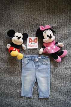 Jeans Gr. 68,  hellblaue Jeans mit kleinen Sternchen