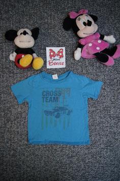 """T-Shirt Gr. 92/98, blaues T-Shirt """"Cross Team"""""""