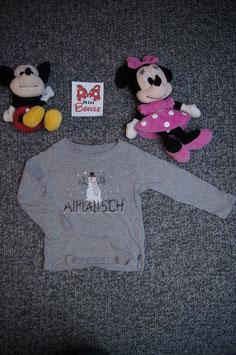 """langarm T-Shirt Gr. 92, graues langarm T-Shirt """"Alprausch"""""""