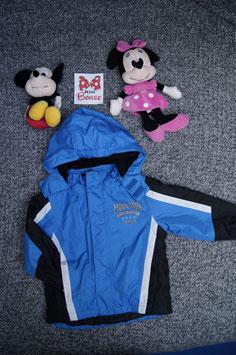 Jacke Gr. 98/104,  blau schwarze Jacke