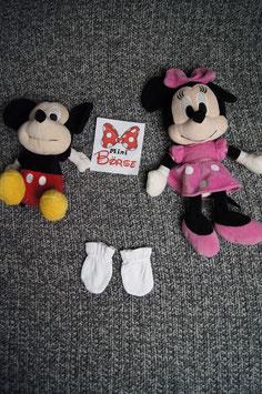 kleine Handschuhe mit Gummizug, 0-4 Monate