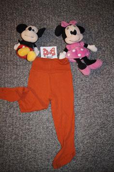 Pijama Hose Gr. 86/92, orange Pijama Hose mit Füsschen