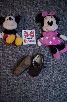 Schuhe GR. 25, braune Leder Schuhe