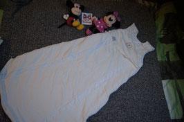 Schlafsack Gr. 130, weisser dicker Schlafsack