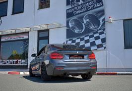 FMS Klappenabgasanlage 90mm BMW 2er F22 / F23 240i / 240ix mit OPF