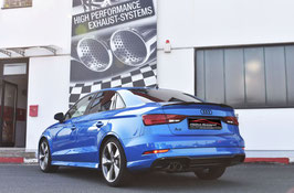 FMS Sportendschalldämpfer Audi A3 8V Limousine Frontantrieb