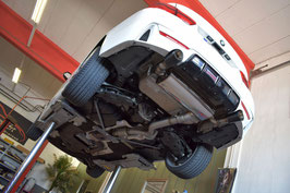 FMS Klappenabgasanlage 90mm BMW F30 / F32 340i(x) / 440i(x) mit OPF