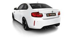 Remus Abgasanlage ab KAT BMW M2 F87 Competition OPF + optional mit Remus Endrohren oder MMR Endrohren