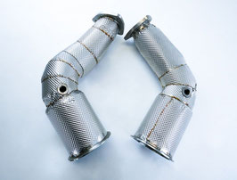 Bull-X Downpipes für Audi RS4/RS5 B9 (inkl. Integralisolierung)