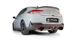 Remus Sportabgasanlage ab OPF Hyundai I30N Performance Fastback mit OPF + optional Remus Endrohre oder MMR Endrohre