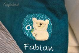 Kuscheldecke Bär personalisiert