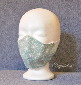 Nasen-Mund Maske Variante OHNE Falten