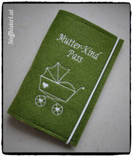 Mutter-Kind-Pass Hülle Kinderwagen