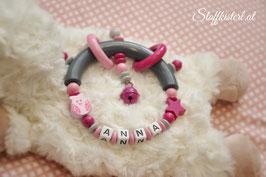 Greifling rosa-grau mit Namen
