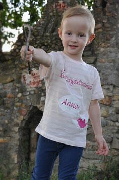 Shirt zum Kindergartenstart mit Namen