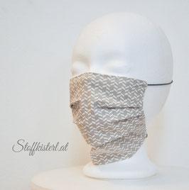 Nasen-Mund Maske Variante MIT Falten