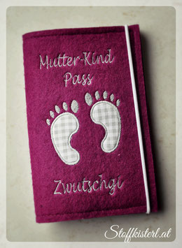 Mutter-Kind-Pass Hülle Füßchen