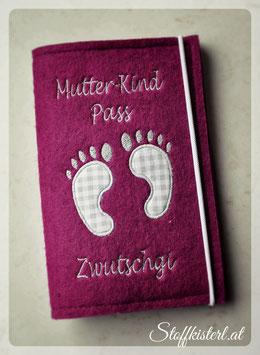 Mutter-Kind-Pass Hülle FÜSSCHEN