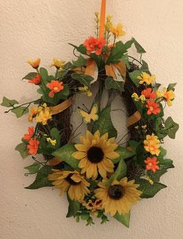 Osterkranz Sonnenblume