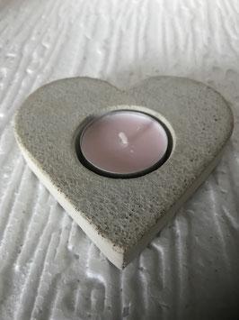 Teelicht Herz