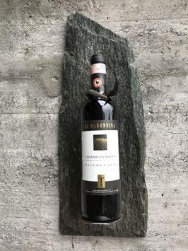 Weinhalter mit Spaten