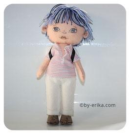 Léo, poupée d'art