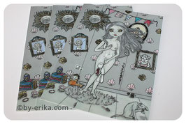 Damoiselle Vénus, carte postale