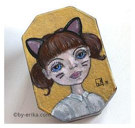 Damoiselle Miaou, petite boîte enchantée