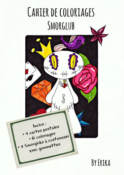 Smorglub ,  cahier de coloriages