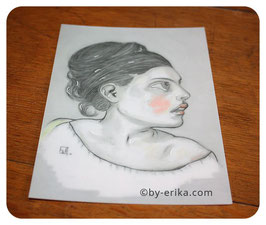Damoiselle Orpheline, carte postale