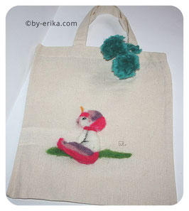 Mini Tote bag licorne