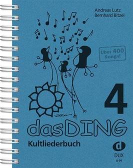 Das Ding 4 - Kultliederbuch Taschenformat