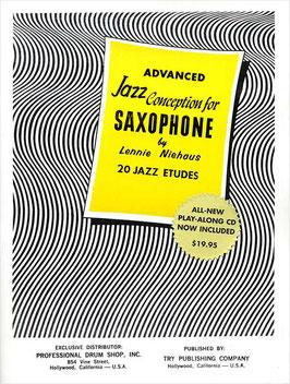 Niehaus - advanced Jazz Conception 1 (incl. CD)