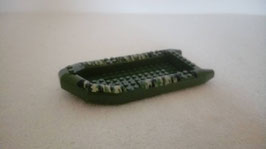 Assault boat green colour with camo