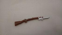K98 brown with silver bajonett