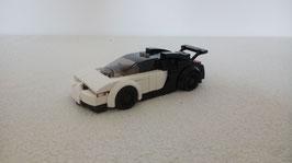 Miniscale Bugatti white