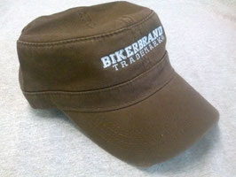 Military Style Hat Brown - #0134