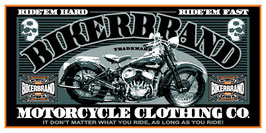Bikerbrand Vinyl Banner - #0201