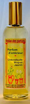 Parfum d'intérieur  Chèvrefeuille/Muguet/Jasmin 100ml