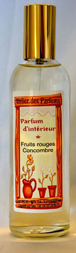 Parfum d'intérieur  Fruits Rouges/Concombre 100ml