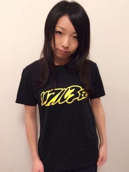 リアル3区【ロゴTシャツ・黒】