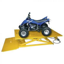 Motorhefbrug 685 kg/zitmaaiers